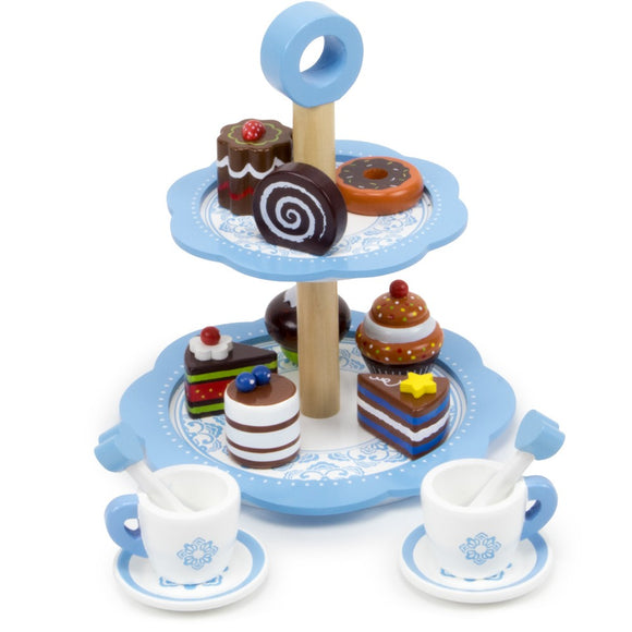 WOODEN DESSERT TOWER