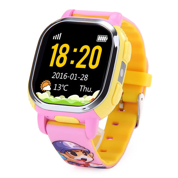 GPS CHILD SAFETY WATCH TRACKS