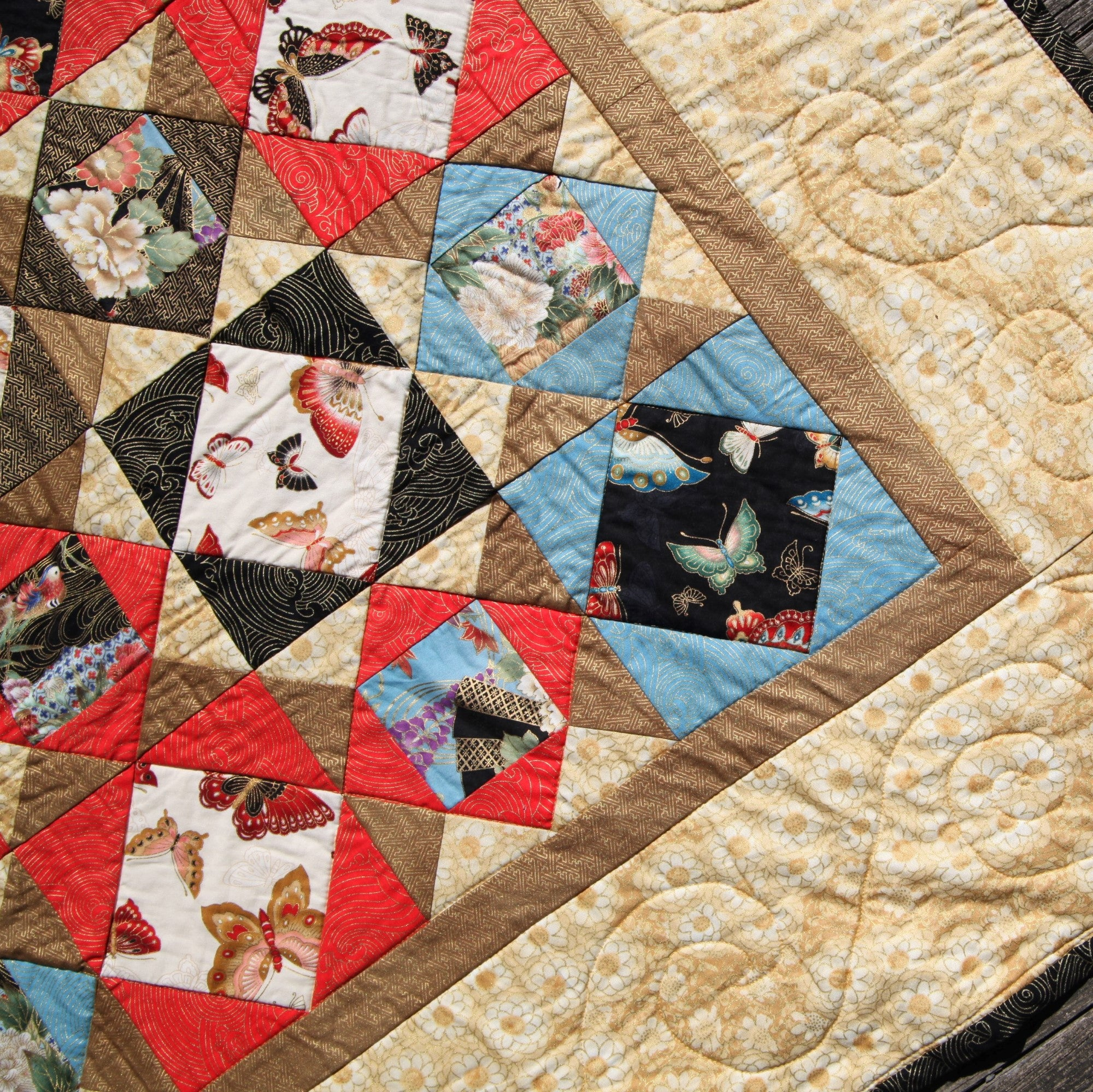 quilt of white free picture quilting black motion lyn arm durbin quilts red by long