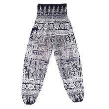 Men Women Thai Harem Trousers Boho Festival Hippy Smock High Waist Yoga Pants