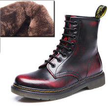 2019 Boots Women Genuine Leather Shoes For Winter Boots Shoes Woman Casual Spring Genuine Leather Botas Mujer Female Ankle Boots