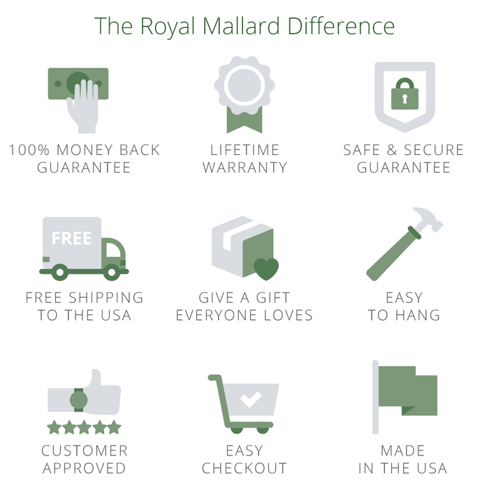 9 reasons why Royal Mallard is cool man cave art