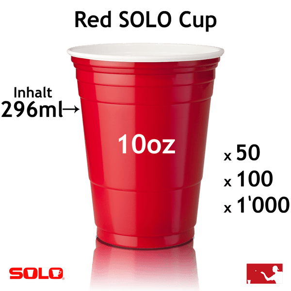 SOLO Cups 10oz (296ml)