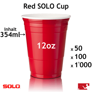 SOLO Cups 12oz (354ml)
