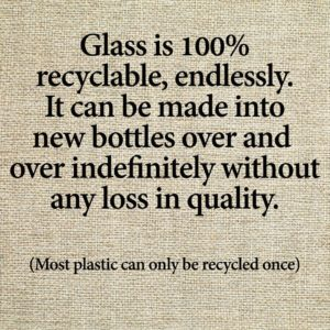 Avoid Plastic - Choose Glass for Quality and for the Environment