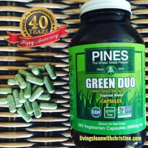 Capsules Filled With Nutrient-Dense Greens