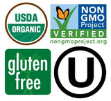 organic gluten free and nongmo
