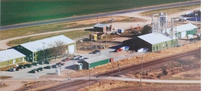 Pines production facility in Northeastern Kansas includes drying, bottling, packaging and marketing surrounded by their fields.