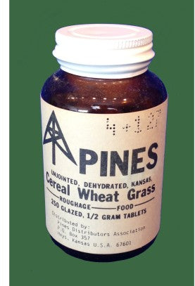 pines wheatgrass 1977 - left space