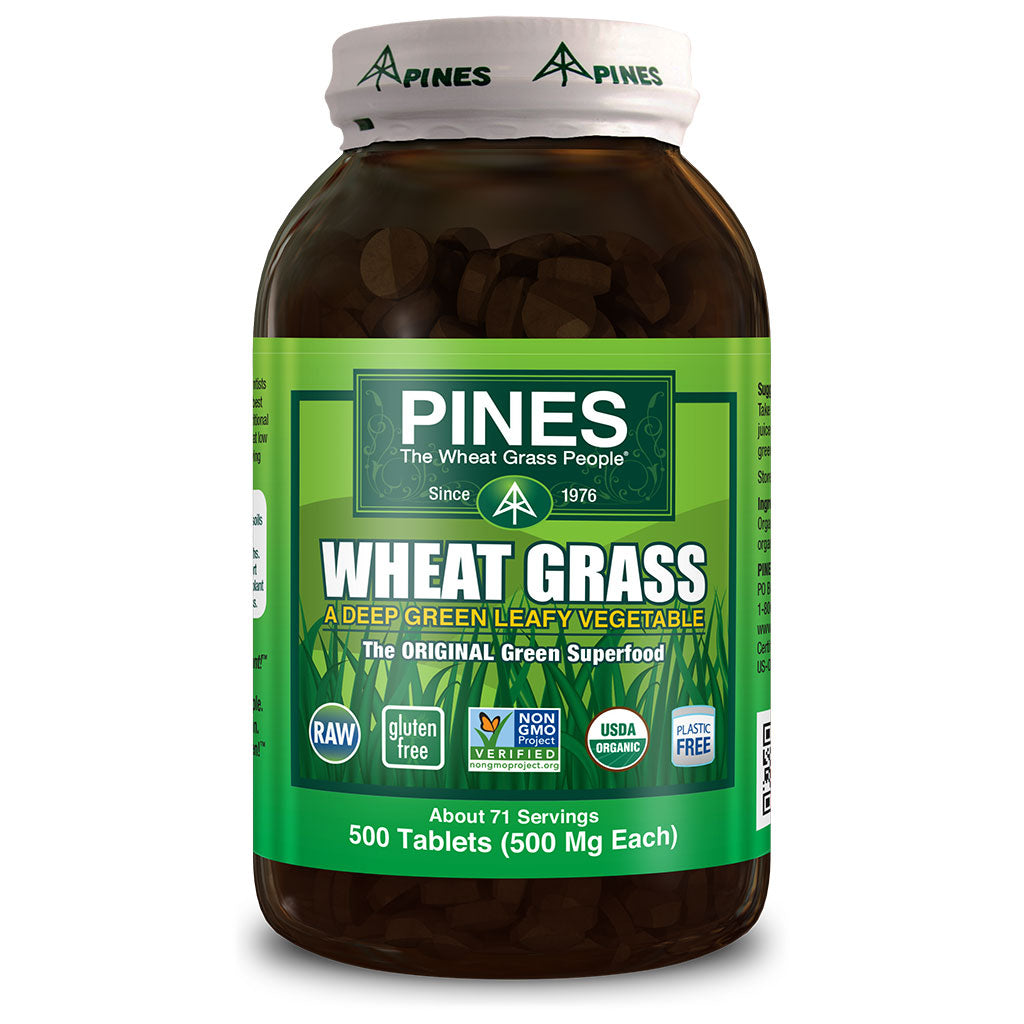 Wheatgrass Tablets (500)