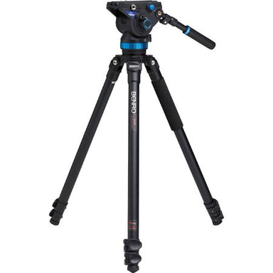 Benro A373FBS8 Aluminum Video Tripod Kit with S Video Heads