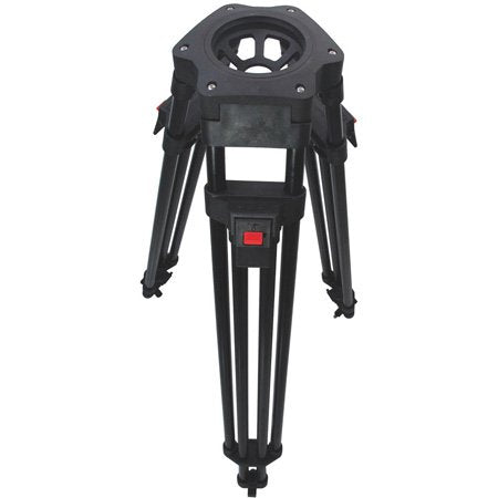 Cartoni KF2221HC FOCUS 22 Head 1 Stage Aluminum 100mm HD Tripod ML Spreader Feet 2 Pan Bars & Soft Case