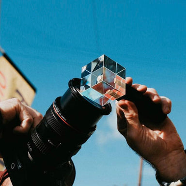 Photograph Crystal Light Optical Glass Lens