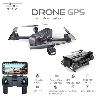 1080P Camera With GPS Follow Me Mode RC Quadcopter Drone
