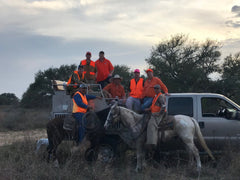 South Texas Quail Hunting with Horses