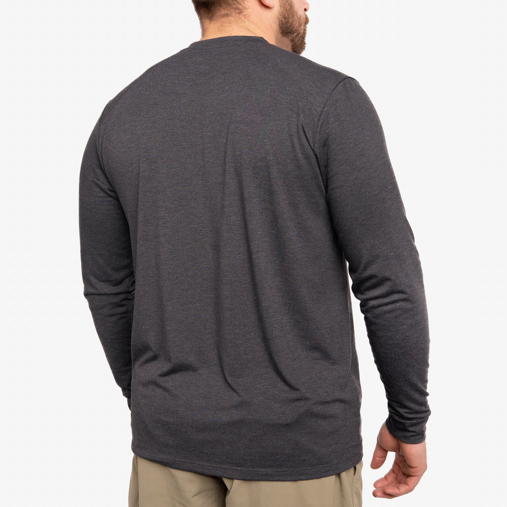 Lightweight Bamboo Crew - Charcoal