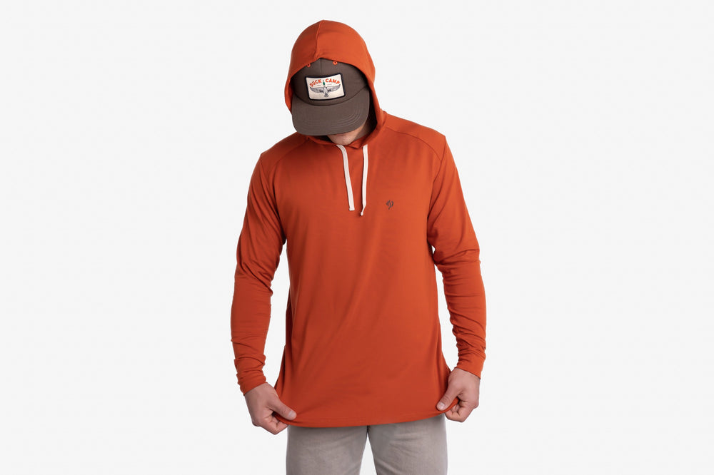 Midweight Bamboo Hoodie | Campfire