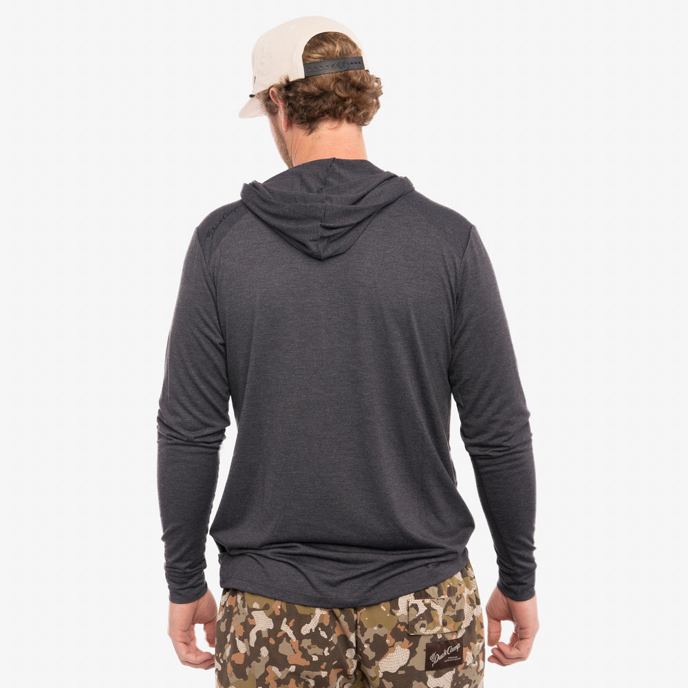Lightweight Bamboo Hoodie - Charcoal