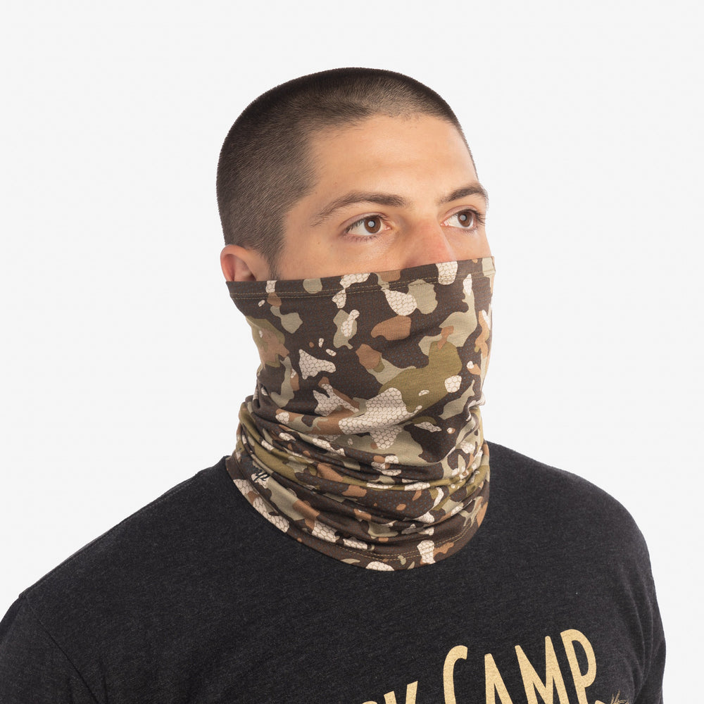Original Bamboo Neck Gaiter - Early Season Wetland