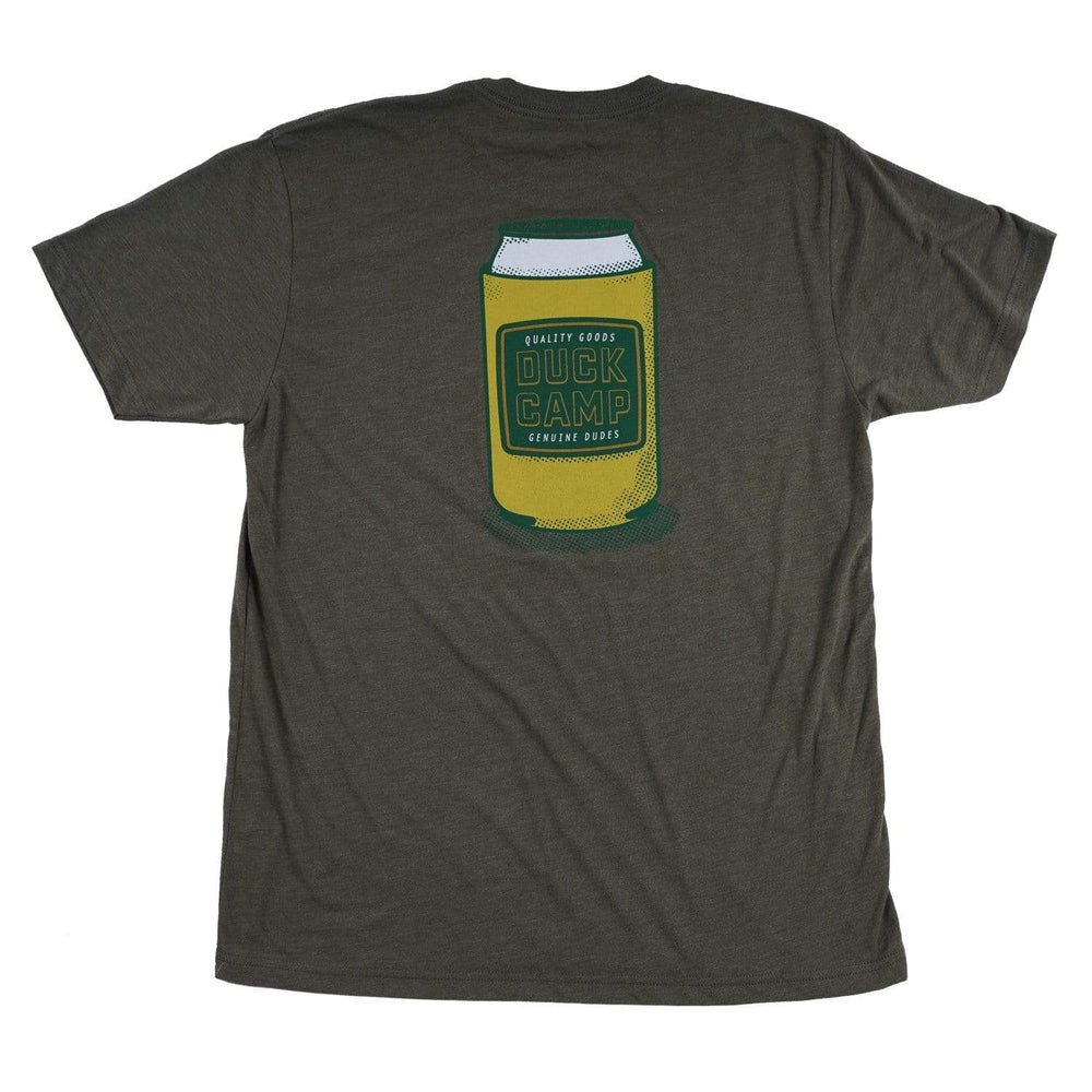 Cold Drink - T-shirt - Yellow & Military Green - Duck Camp