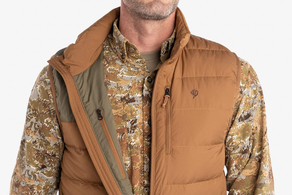 DryDown Vest | Pintail Brown