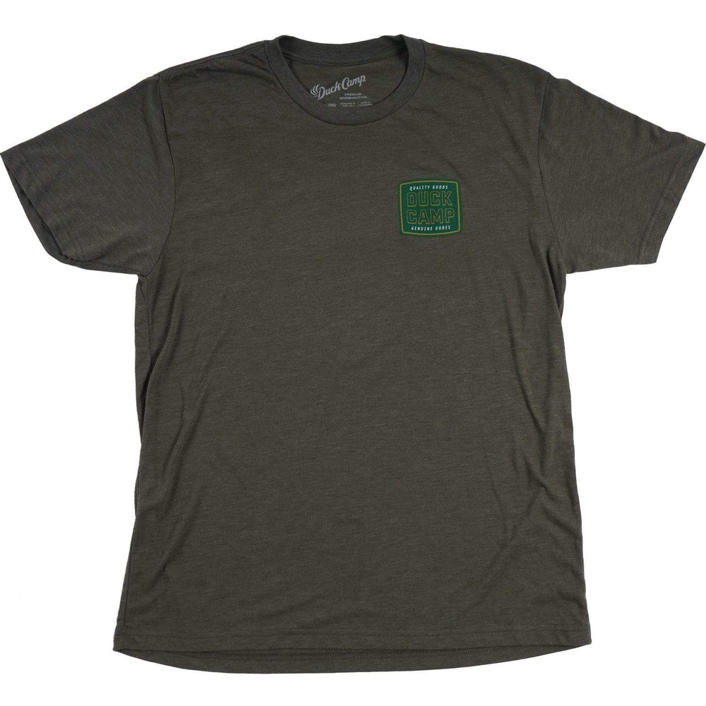 Cold Drink Genuine Dudes - Military Green & Yellow - Duck Camp