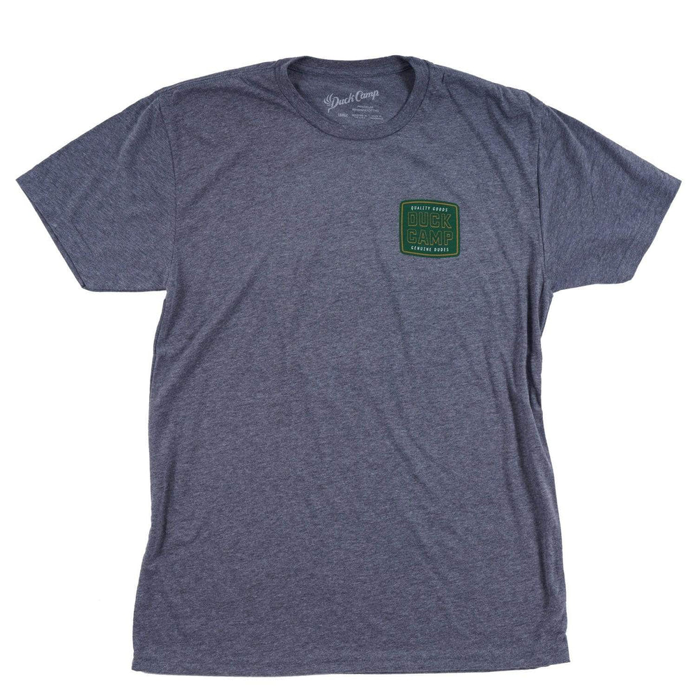 Cold Drink T-shirt - Heather Grey- Duck Camp