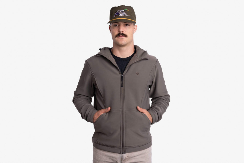 Head Guide Fleece Hoodie - Full Zip - Cypress