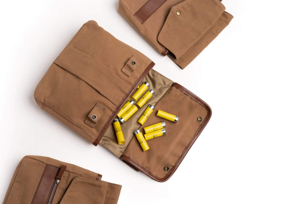 Waxed Canvas Game Bag Set