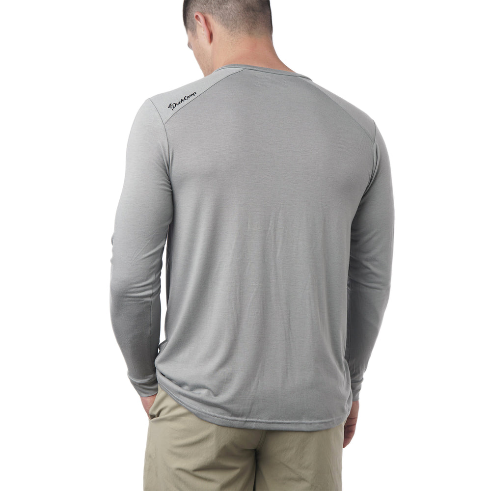 Lightweight Bamboo Crew | Pluff Mud Gray