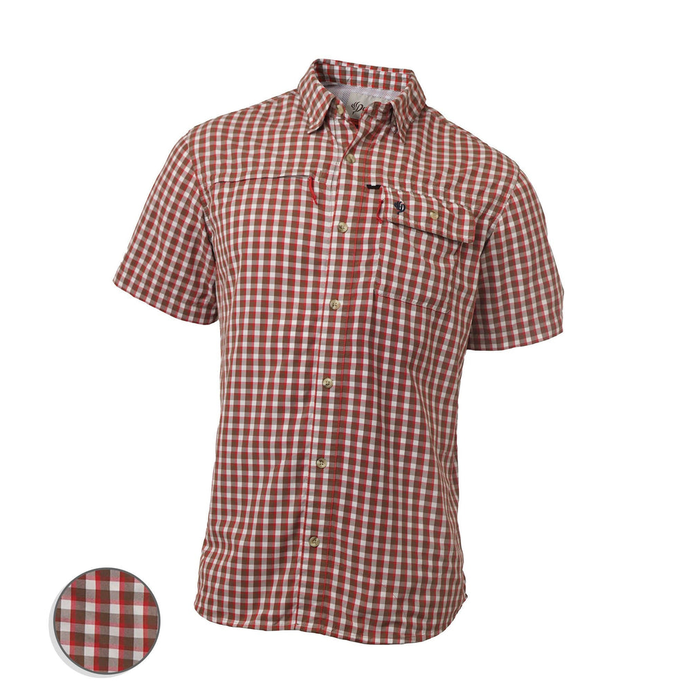 Hooksetter Shirt - Short Sleeve | Red Drum Plaid