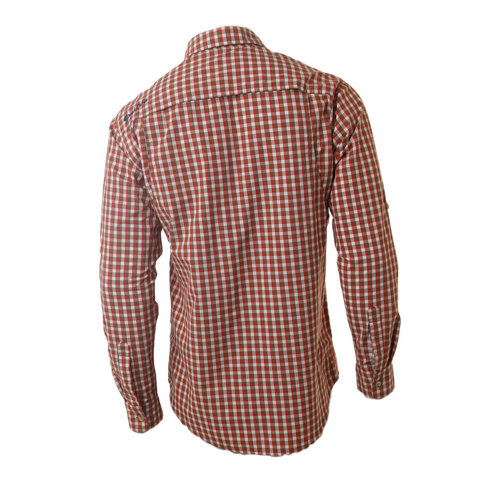 Hooksetter Shirt - Long Sleeve | Red Drum Plaid