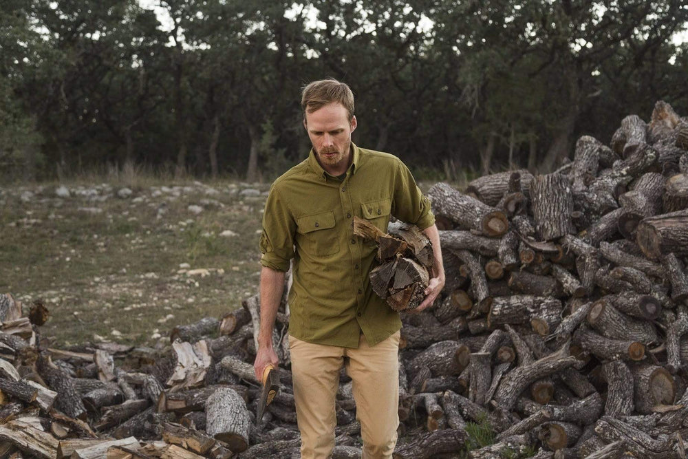 Lightweight Outdoor Shirt - Mallard Green - Duck Camp Co