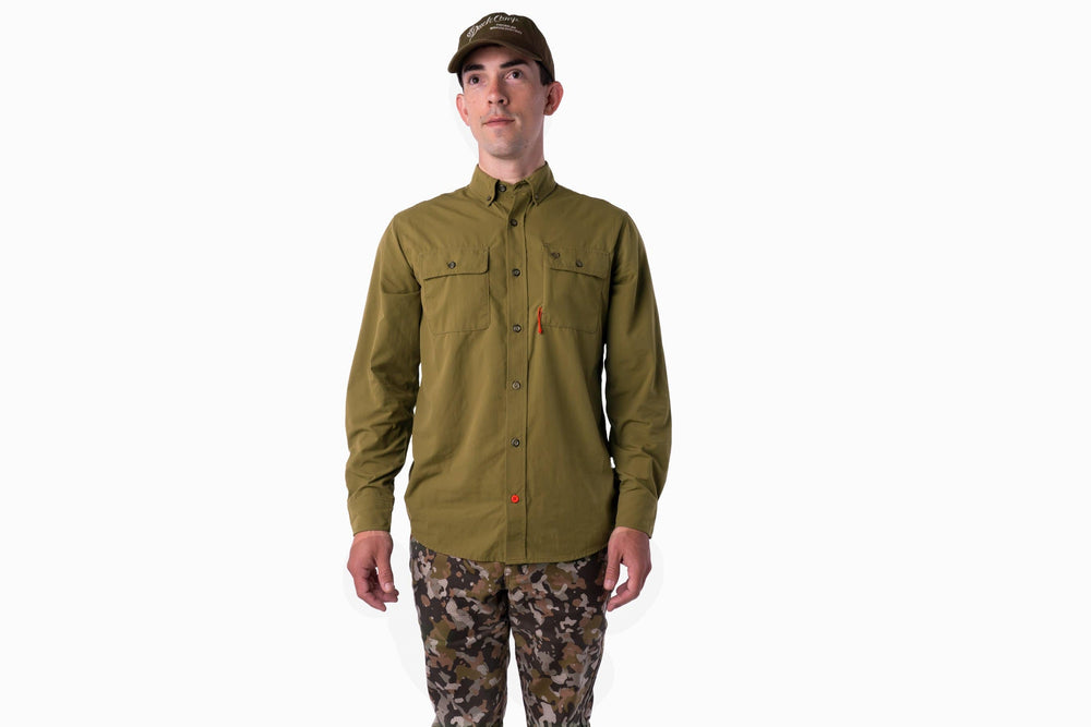 Lightweight Hunting Shirt - Long Sleeve - Mallard Green