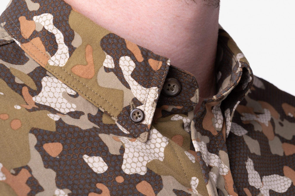 Midweight Hunting Shirt | Early Season Wetland