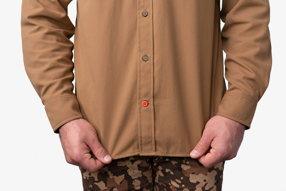 Midweight Hunting Shirt - Pintail Brown