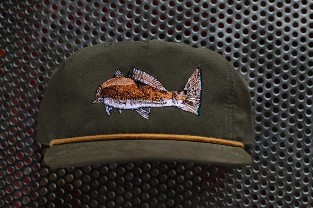 Redfish Hat - Green - Duck Camp