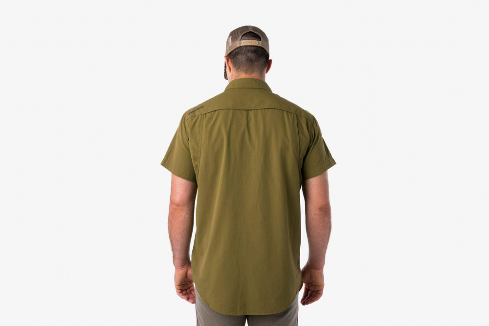 Lightweight Hunting Shirt - Short Sleeve | Mallard Green