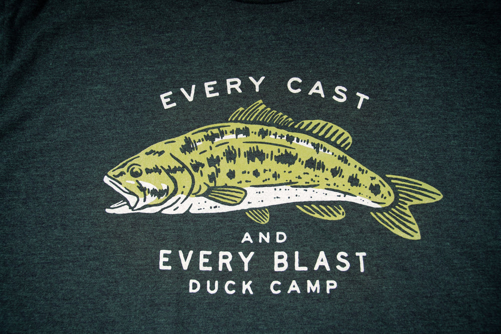 Cast and Bass T-Shirt