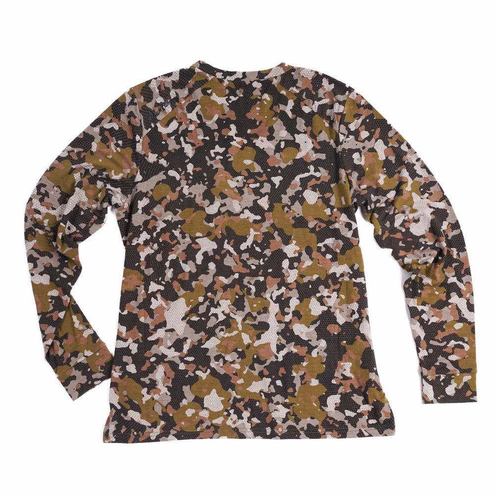 Women's Lightweight Bamboo Crew - Early Season Wetland Camo