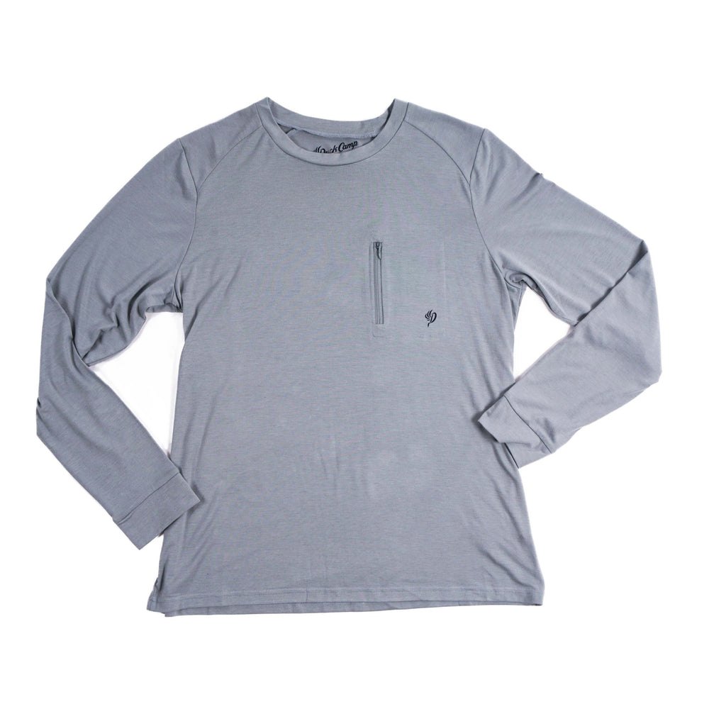 Women's Lightweight Bamboo Crew - Long Sleeve