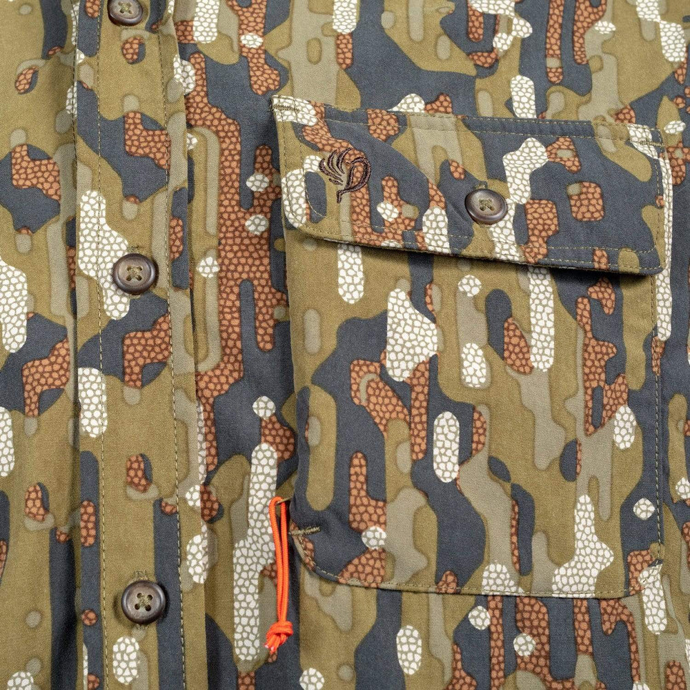 Lightweight Shirt - Early Season Woodland - Tactical Pocket - Duck Camp Co