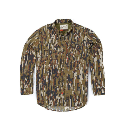 Lightweight Camouflage Hunting Shirt - Early Season Woodland - Duck Camp Co