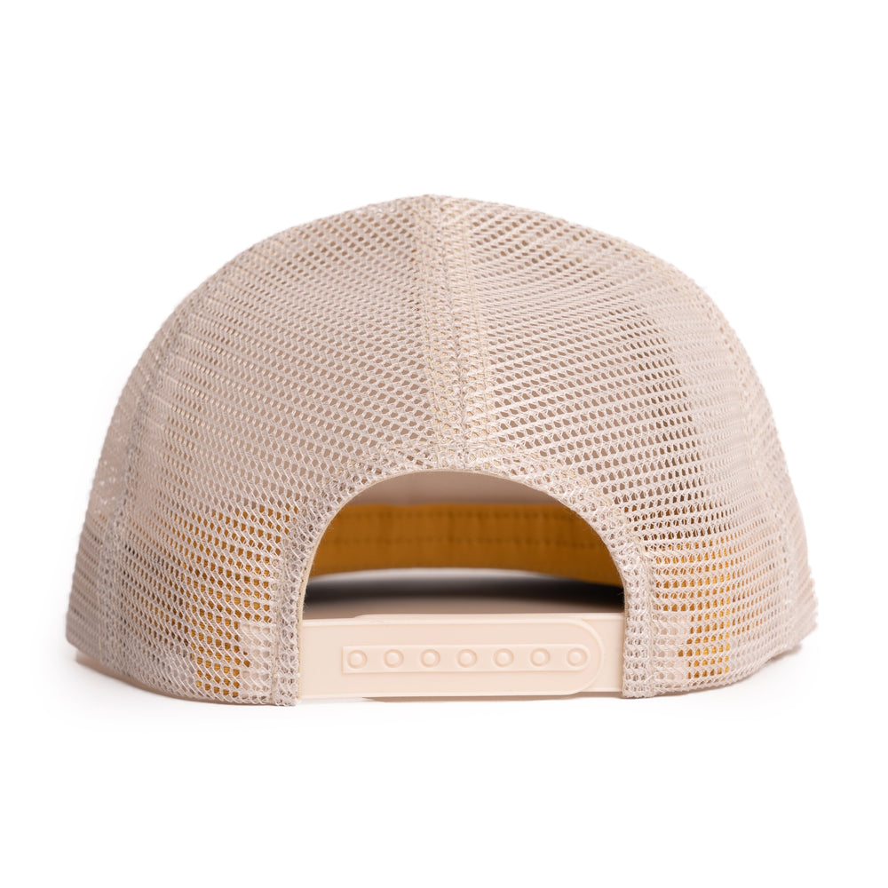 Floating Fly Popper Hat - Mustard