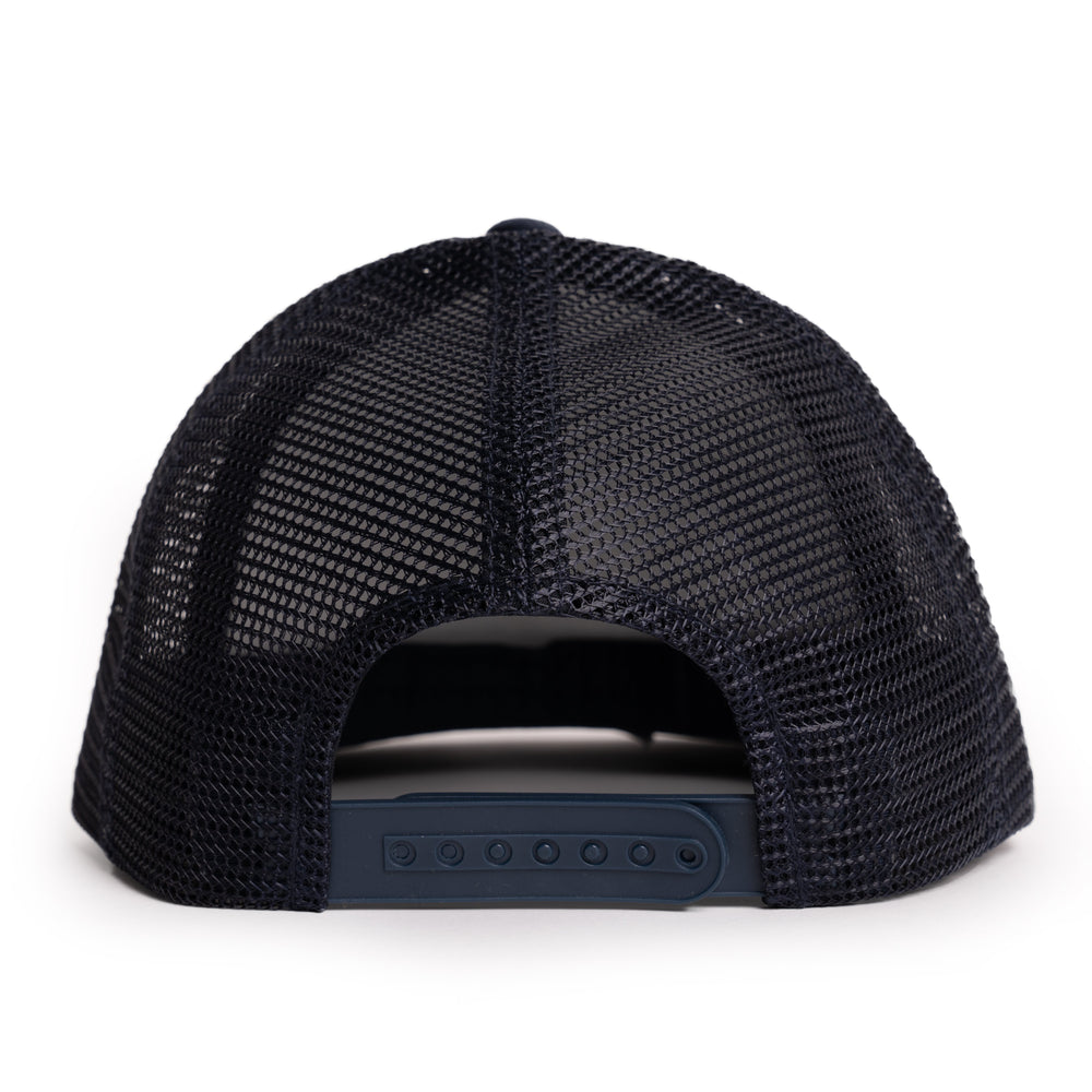 Floating Fly Popper Hat - Navy