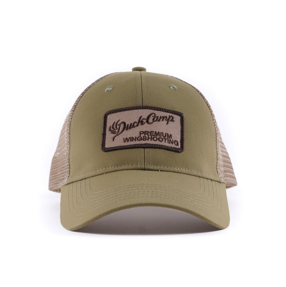 Duck Camp Mallard Green Mesh Trucker Hat - Duck Camp