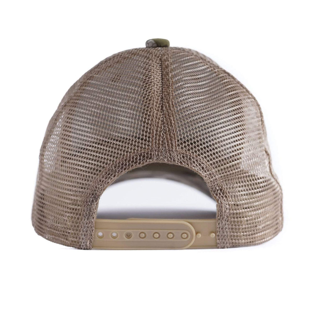 Mesh back trucker hat - Mallard Green - Duck Camp
