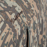 Duck Camp Midweight Camouflage Hunting Shirt - Late Season Woodland