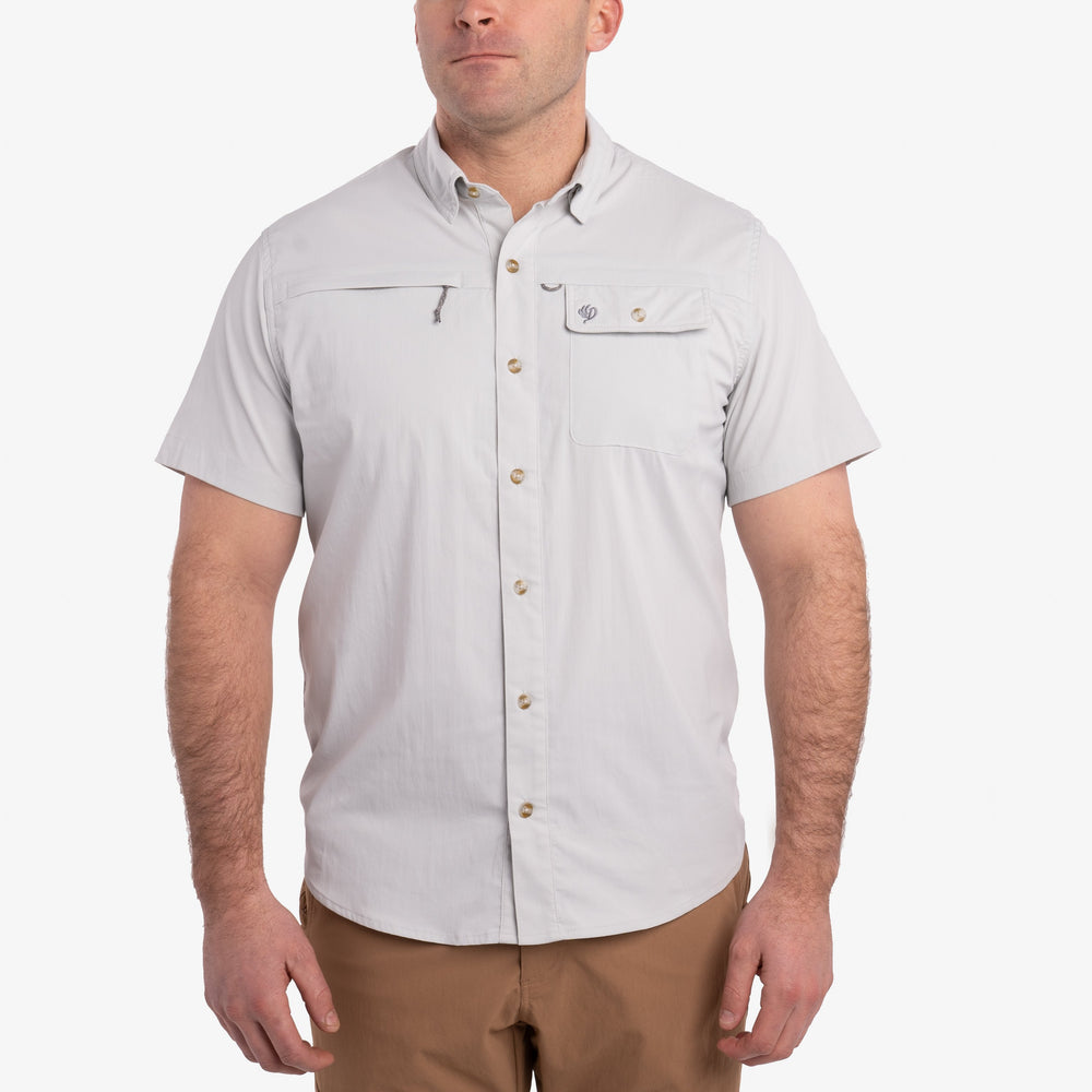 Signature Fishing Shirt - Short Sleeve - Silver King