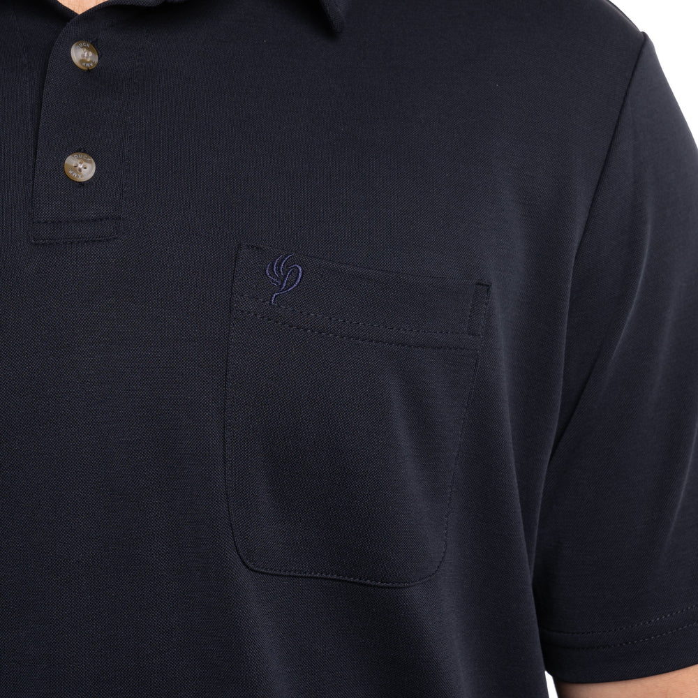 Travel Day Polo - Maritime